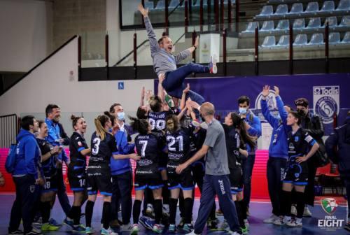 Manita alla Lazio, il Città di Falconara festeggia la sua prima Coppa Italia