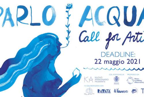 """""""Parlo Acqua"""", aperta la Call per illustratori, grafici, disegnatori, creativi"""