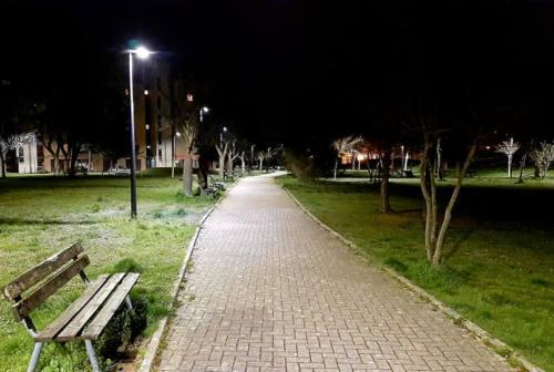 Fabriano, riaprono i parchi e molti con illuminazioni nuove