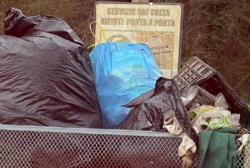Rifiuti abbandonati a Belforte del Chienti: scoperte e multate due persone