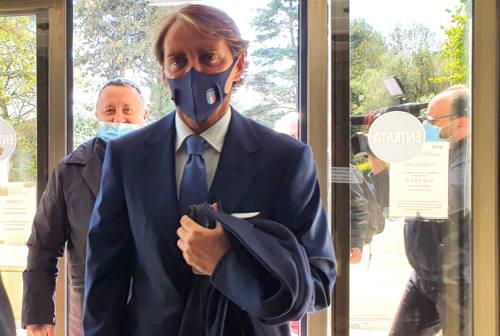 Jesi: grande festa per il concittadino Roberto Mancini, neo ambasciatore della città