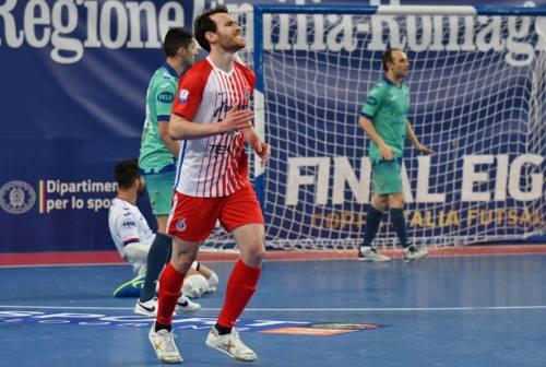 Futsal, l'Italservice piega l'Acqua&Sapone e festeggia il  primo posto in regular season
