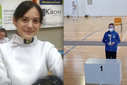 Spada, Alice Armezzani a soli 15 anni conquista il titolo regionale