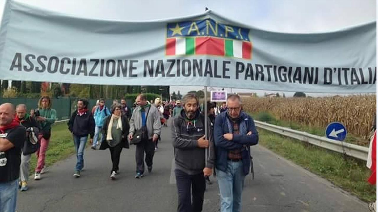 L'Anpi Marche a una Marcia della Pace Perugia - Assisi