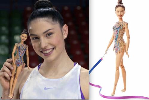 La ginnasta fabrianese Milena Baldassarri diventa una… Barbie
