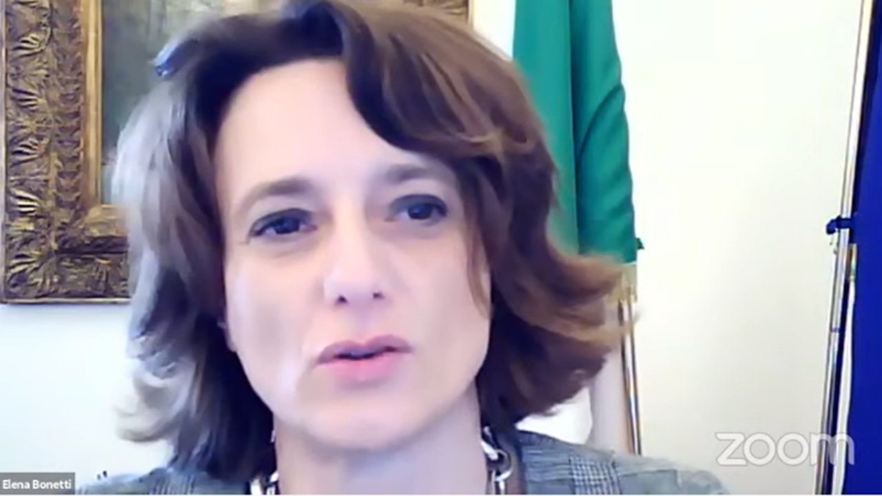 La ministra Elena Bonetti