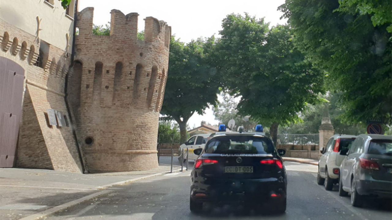 I carabinieri di Corinaldo
