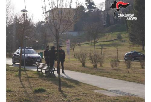 Jesi, spinge un carabiniere facendolo cadere: arrestato un 21enne al Parco del Vallato