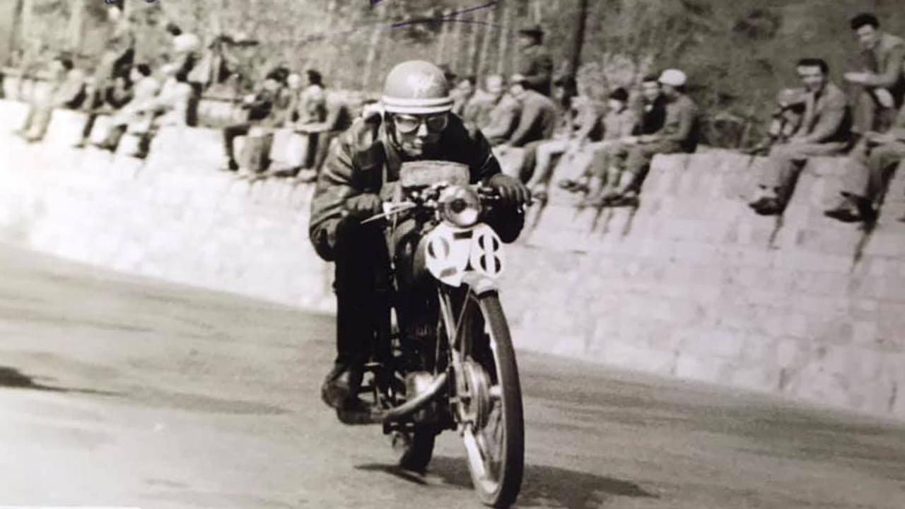 Cesare Bucci nel 1953