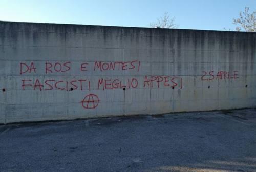 Scritte contro esponenti di FdI a Senigallia, querela all'orizzonte