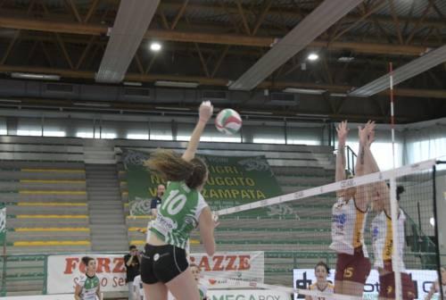 Pallavolo femminile, la Megabox Vallefoglia vince e tiene aperto il campionato