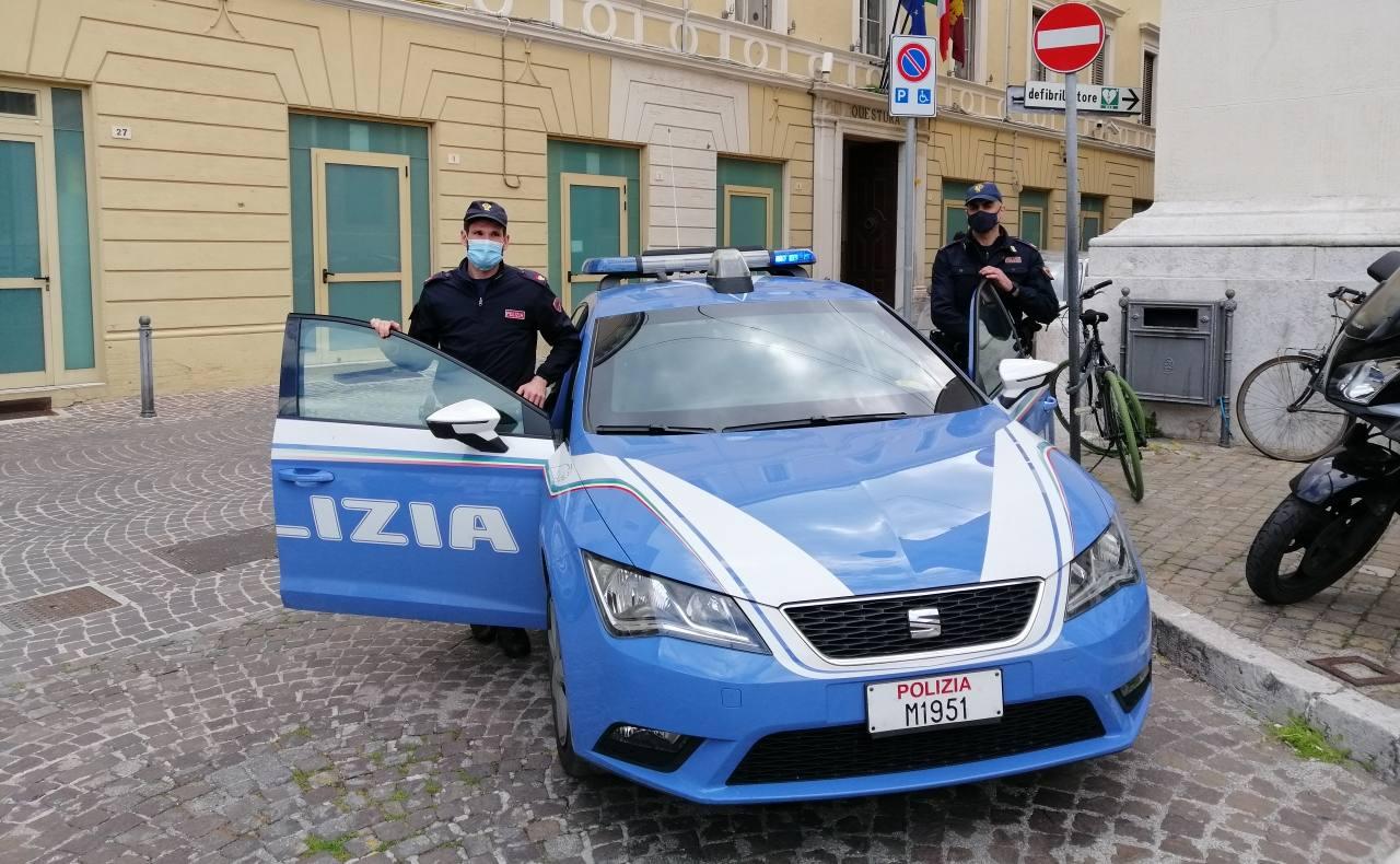 La Polizia di Pesaro