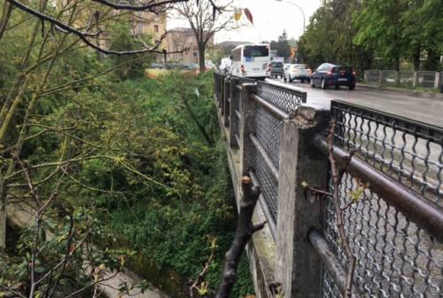 Jesi: ponte di via San Giuseppe deteriorato, transito limitato