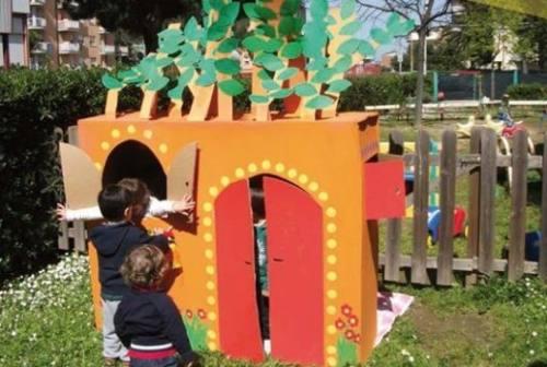 Fiori e vasi per la nuova primavera dei bambini: riaprono i Nidi  di San Benedetto