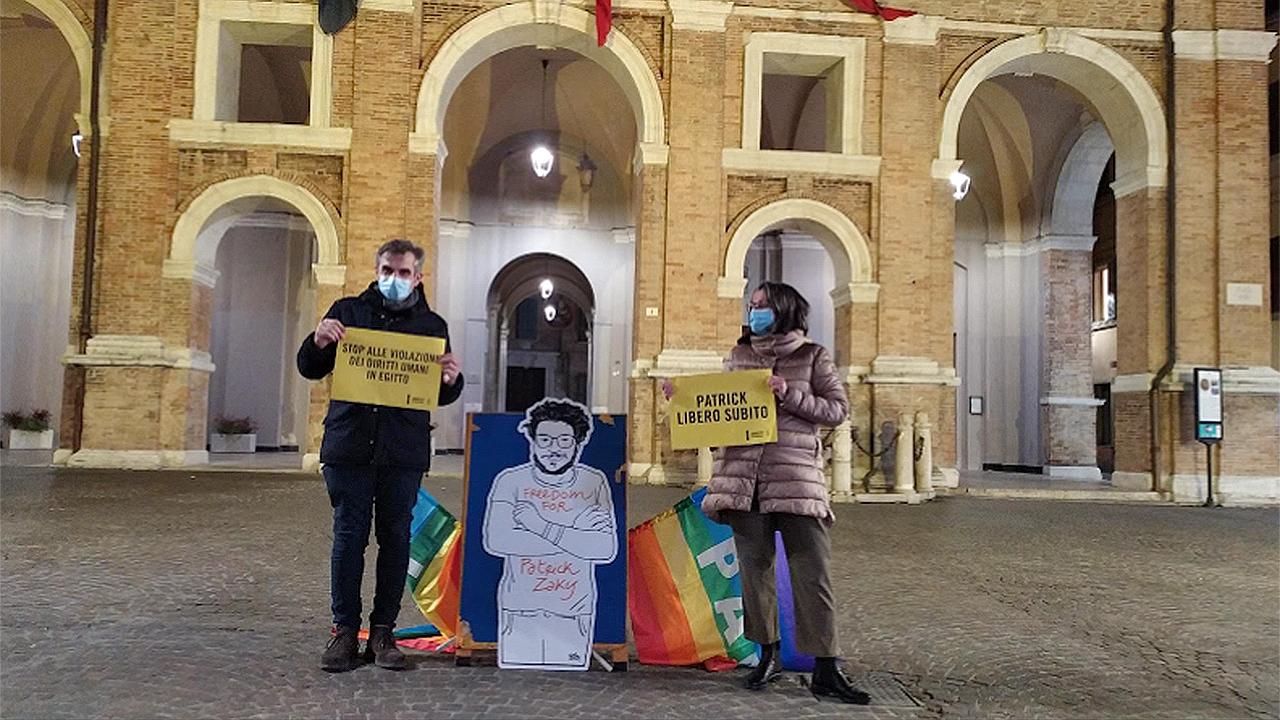 Patrick Zaki, l'iniziativa della Scuola di pace V.Buccelletti di Senigallia