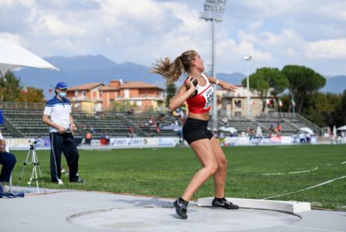 "Sofia Coppari, l'Allieva dei ""record"" dell'Atletica Fabriano"