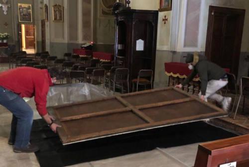San Severino Marche, torna a casa la tela del Pomarancio