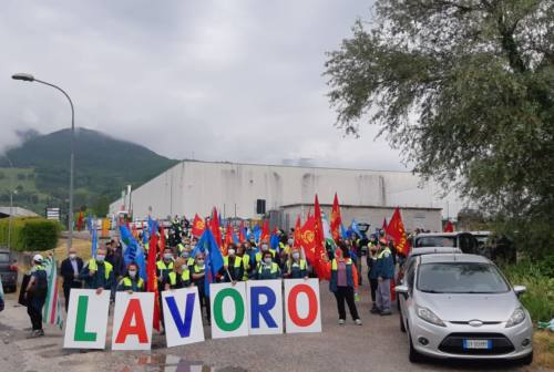 Vertenza Elica, gli operai tornano a scioperare in vista del summit in Regione