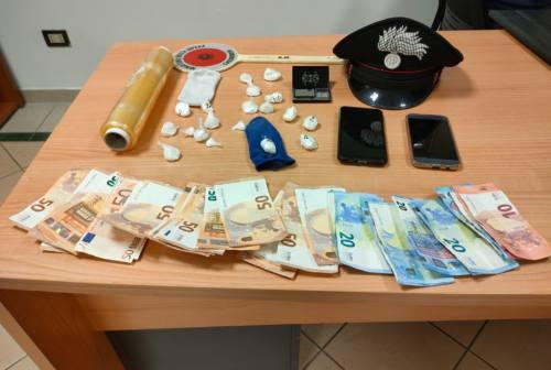 Da Civitanova a San Severino per spacciare cocaina, arrestato 30enne