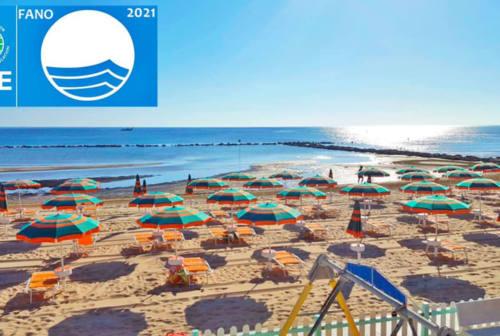 Fano Bandiera Blu anche per il 2021: è il 17° anno consecutivo