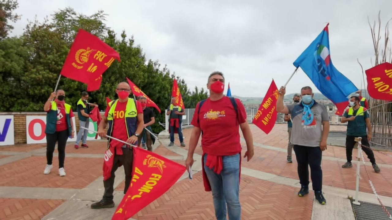 Sciopero lavoratori Elica