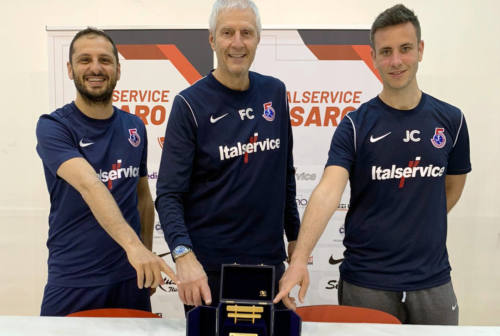 """Colini rinnova: lo """"Special One del futsal all'Italservice Pesaro un altro anno"""
