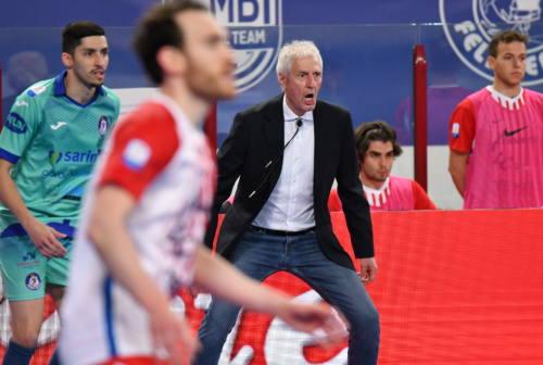 Futsal, per Italservice Pesaro sabato la bella con Matera. Mister Colini: «Svegliamoci o andiamo a casa»