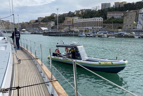 Ancona, contrabbando aggravato ed evasione: sequestrato motoveliero di lusso