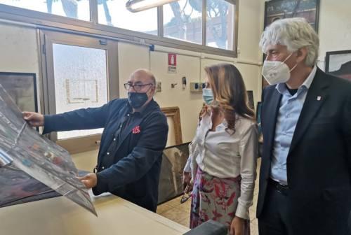 Macerata, il sindaco Parcaroli incontra il maestro Dante Ferretti. «Lavoreremo su progetti per la città»