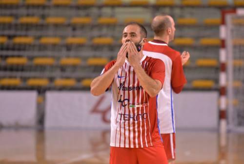 Futsal, l'Italservice Pesaro si prepara alle semifinali ma non conosce la rivale. Canal: «C'è grande voglia di giocare»
