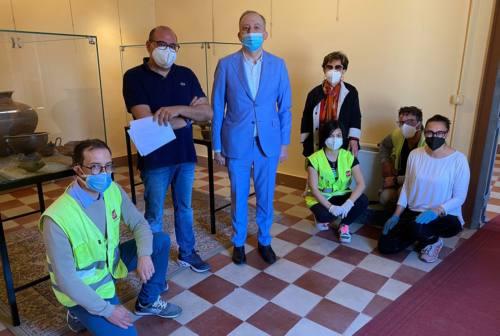 Completati gli scavi a Morrovalle, reperti archeologici in mostra a Palazzo Lazzarini