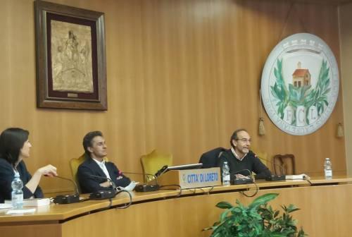 Cammini Lauretani, il senatore Riccardo Nencini a Loreto