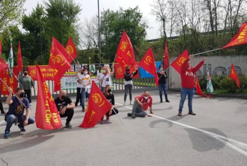 Fabriano, Primo Maggio in presidio per i lavoratori Elica. In ansia i colleghi di Indelfab