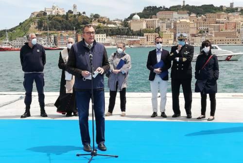 Ad Ancona inaugurata la banchina 22. Giampieri per l'ultima volta Presidente: «Opera strategica. Porto ancora più competitivo»