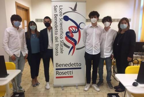 Campioni di educazione finanziaria: studenti del Rosetti di San Benedetto a confronto con la presidente BCE