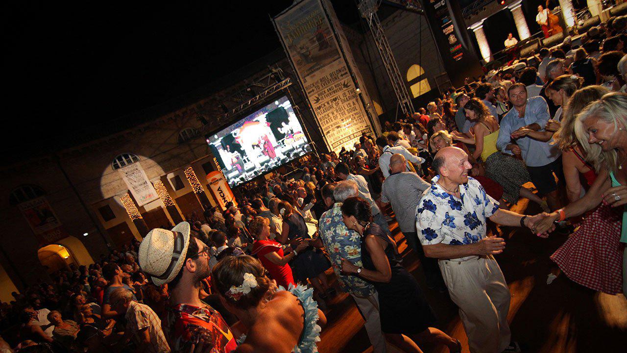 Balli a Senigallia con il Summer Jamboree. Foto di Libero Api