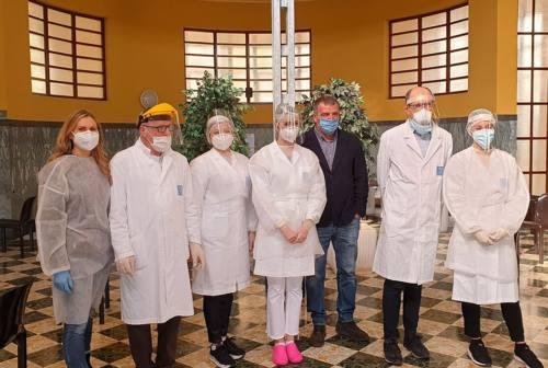 Tolentino, raddoppiano le vaccinazioni alle Terme Santa Lucia