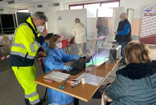 Falconara, punto vaccinale: più sieri, più somministrazioni. Fornitura consistente attesa in arrivo la prossima settimana