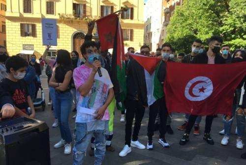 «Palestina libera», sit-in ad Ancona