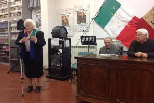 È scomparsa la partigiana Egidia Coccia, una delle protagoniste della Resistenza nel Piceno