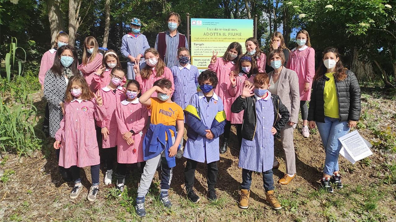 I bambini adottano il fiume Misa di Senigallia: concluso il progetto dell'istituto comprensivo Fagnani e dell'associazione Confluenze