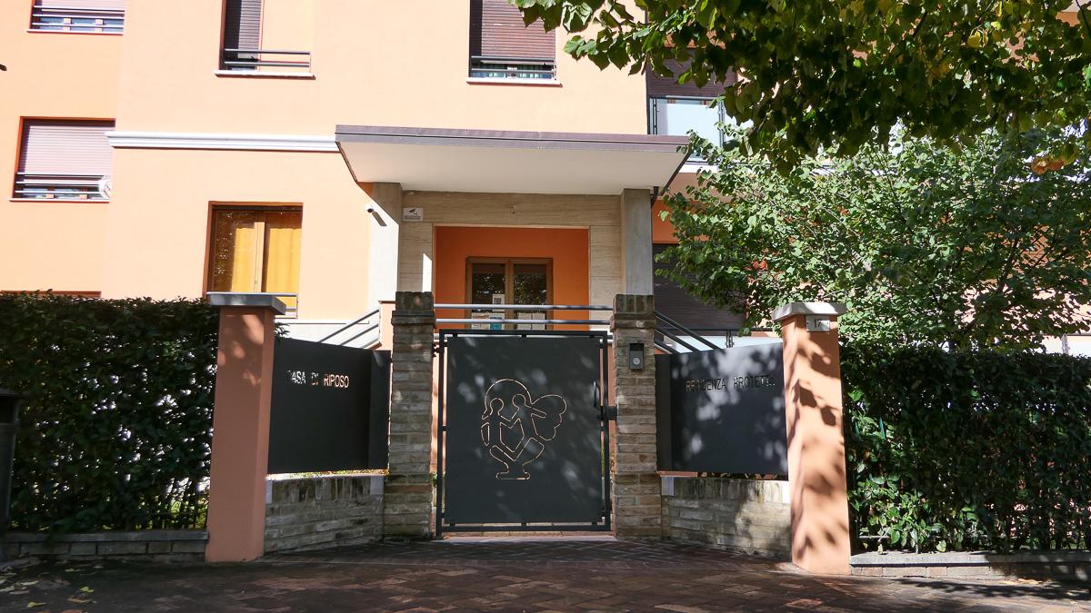 La residenza protetta per anziani della fondazione Santa Maria Goretti di Corinaldo