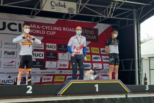 Ciclismo paralimpico: Giorgio Farroni c'è, oro e argento in Coppa del Mondo