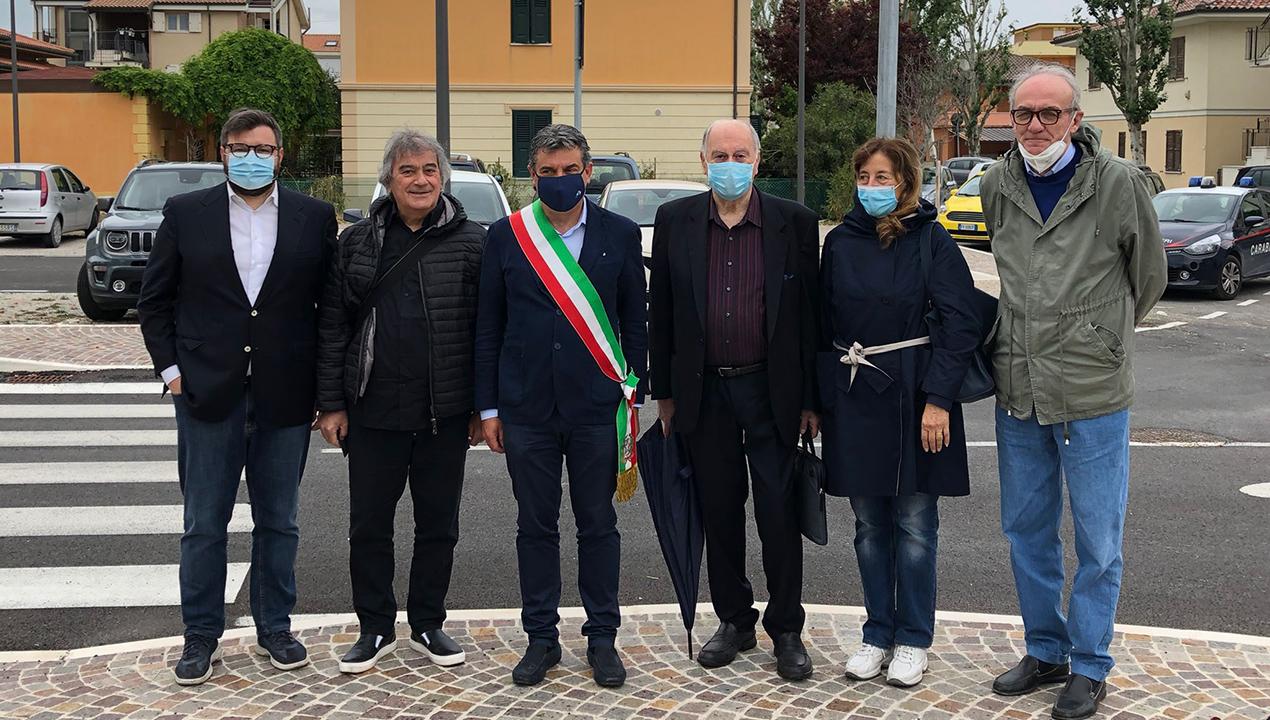 inaugurata la via intitolata a Vincenzo Cecchetelli