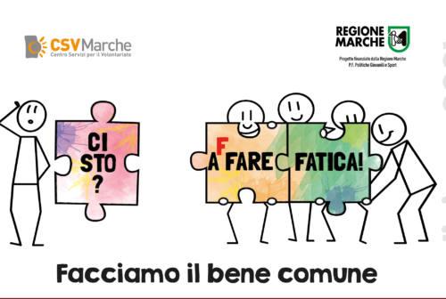 """Montecassiano aderisce a """"Ci Sto? Affare Fatica! – Facciamo il bene comune"""""""