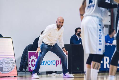 Ristopro Fabriano, coach Pansa elogia i suoi: «Che carattere»