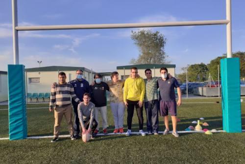 RugbyAmo, a Jesi la carica di Nicola e compagni: «Siamo forti, siamo una squadra!»