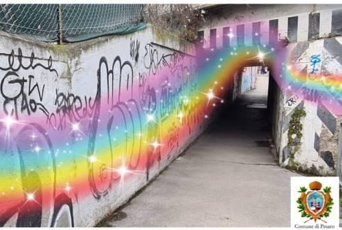 Pesaro, grigi e degradati: i sottopassi urbani saranno colorati dagli artisti