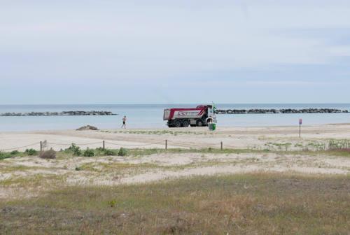 Senigallia, la spiaggia di velluto vuole farsi bella: ultimi ritocchi