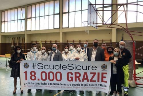 Pesaro, concluso l'ultimo giro di tamponi nelle scuole: 18 mila gli studenti controllati
